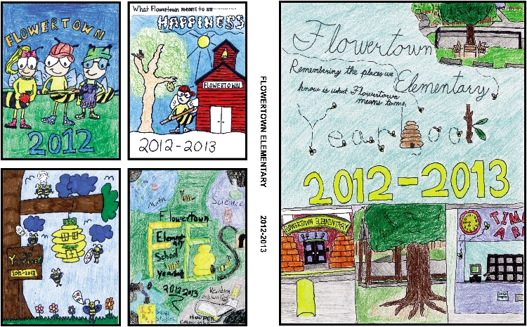 catchy collections of yearbook cover ideas elementary school - Yearbook Design Ideas